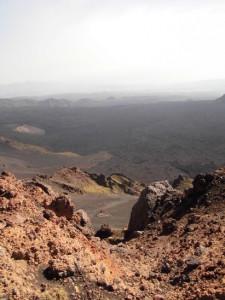 Vista della Valle del Bove
