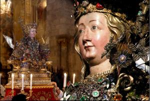 Busto reliquario di sant'Agata